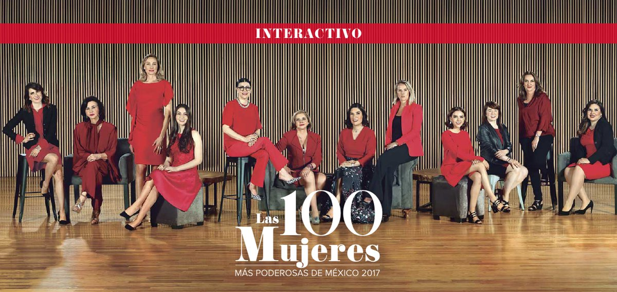 "Alumnae are listed in the ranking ""The 100 Most Powerful Mexican Women Forbes 2017"""