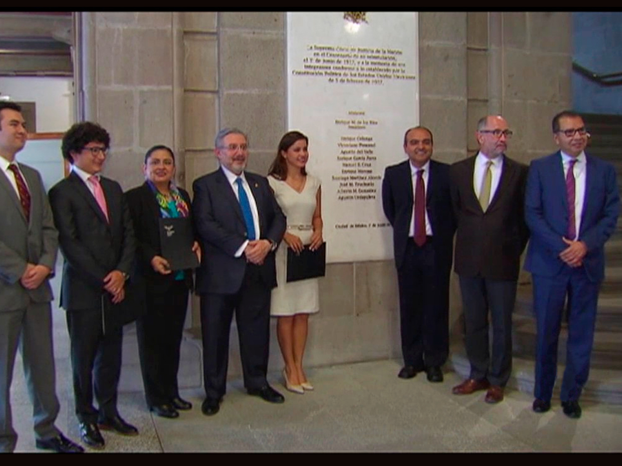 Laura Márquez Martínez won the National Thesis Contest on the Future of Administration of Constitutional Justice in Mexico