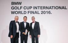 Felipe Olvera wins first place in the BMW Golf Cup International World Final